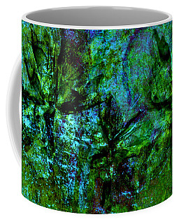 Coffee Mug featuring the mixed media Drowning by Ally  White