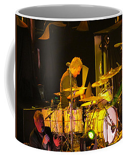 Coffee Mug featuring the photograph Drumer For Newsong Rocks Atlanta by Aaron Martens