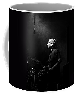 Drummer Portrait Of A Muscian Coffee Mug