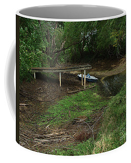 Coffee Mug featuring the photograph Dry Docked by Peter Piatt