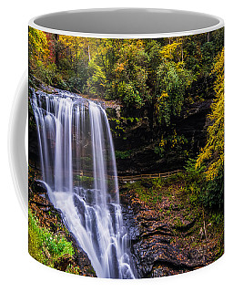 Dry Falls Along The Cullasaja River Coffee Mug