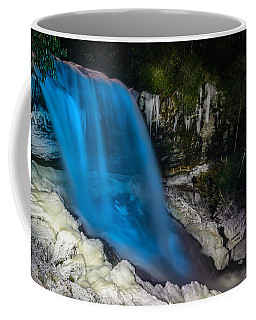 Dry Falls At Night Coffee Mug