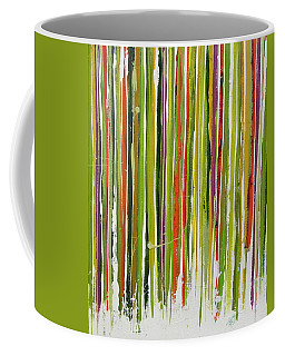 D.s. Color Band Skinny Coffee Mug