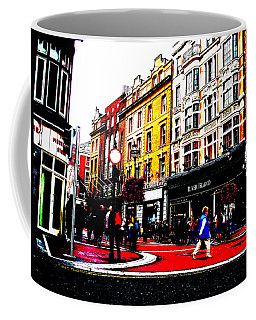Coffee Mug featuring the photograph Dublin City Vibe by Charlie and Norma Brock