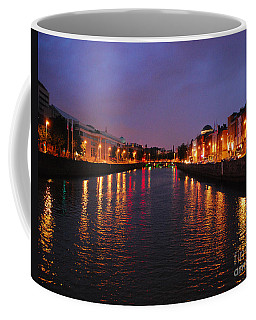 Coffee Mug featuring the photograph Dublin Nights by Mary Carol Story