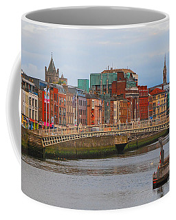 Dublin On The River Liffey Coffee Mug