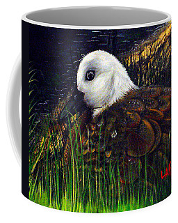 Duck At Dusk Coffee Mug