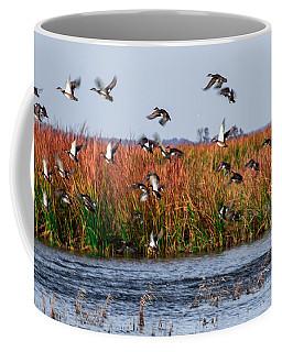 Duck Blind Coffee Mug