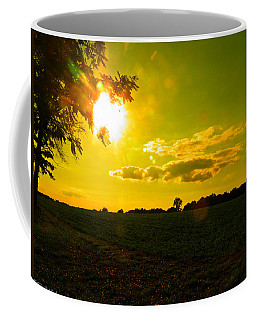 Duck Flying Low Cloud 2 Coffee Mug