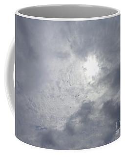 Duck In Beautiful Sky Coffee Mug by Christina Verdgeline