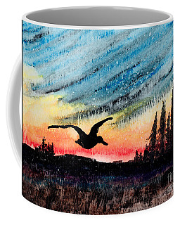 Ducking The Storm Coffee Mug