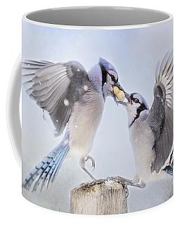 Dueling Jays Coffee Mug