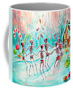 Coffee Mug featuring the painting Dulcelandia by Heather Calderon