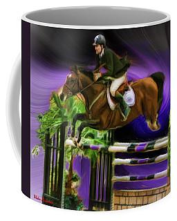 Duncan Mcfarlane On Horse Mr Whoopy Coffee Mug