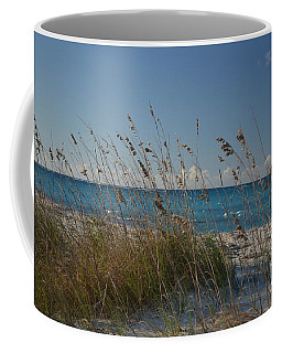 Coffee Mug featuring the photograph Dune Grasses by Judy Wolinsky