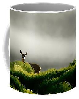 Dunes Deer P Coffee Mug