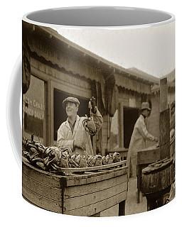 Dungeness Crabs At Fisherman's Wharf At San Francisco California. Circa 1935 Coffee Mug