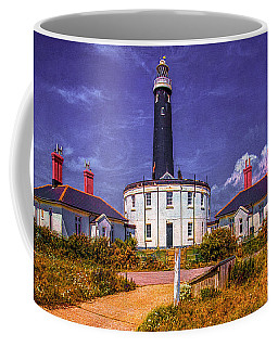Coffee Mug featuring the photograph Dungeness Old Lighthouse by Chris Lord
