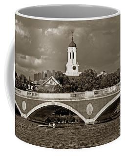 Weeks Bridge Charles River Bw Coffee Mug