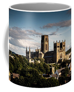 Coffee Mug featuring the photograph Durham Cathedral by Matt Malloy