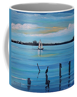 Dusk Approaching  Coffee Mug by Marilyn  McNish
