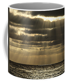 Dusk On Pacific Coffee Mug by Joe Schofield