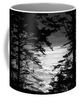 Dusk On The Ocean Coffee Mug by Katie Wing Vigil