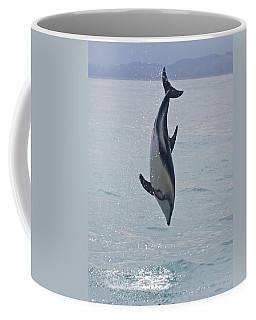 Dusky Dolphin, Kaikoura, New Zealand Coffee Mug by Venetia Featherstone-Witty