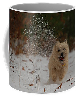 Dusted Coffee Mug by Molly Poole