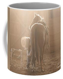 Dusty Morning Pedicure Coffee Mug