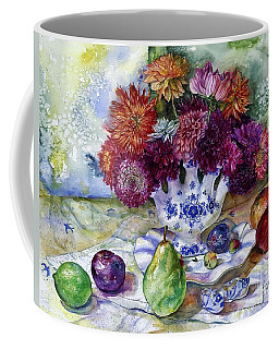 Dutch Dahlia Delights Coffee Mug