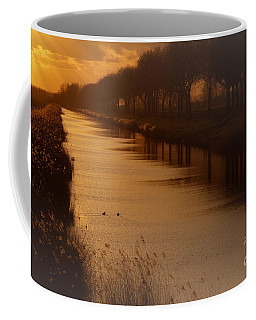 Coffee Mug featuring the photograph Dutch Landscape by Nick  Biemans