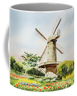 Dutch Windmill In San Francisco  Coffee Mug