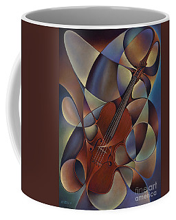 Dynamic Violin Coffee Mug