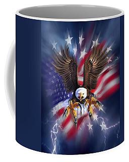 Eagle Burst Coffee Mug