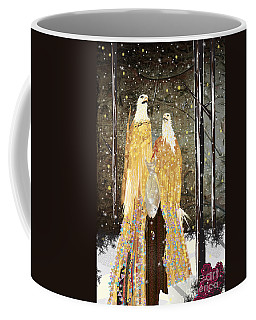 Winter Dress Coffee Mug by Kim Prowse