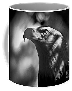 Eagle In Shadows Coffee Mug