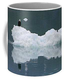 Eagle On Ice Coffee Mug by Shoal Hollingsworth