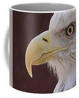 Eagle Portrait Freehand Coffee Mug