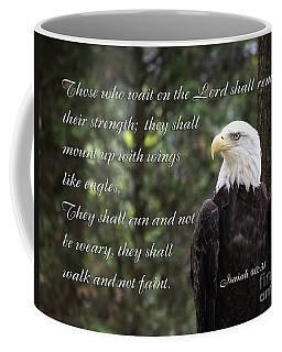 Eagle Scripture Isaiah Coffee Mug