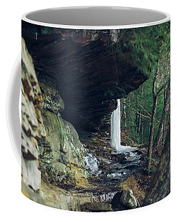 Eaglefalls Trail In Winter Coffee Mug