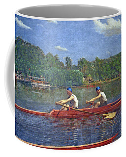 Eakins' The Biglin Brothers Racing Coffee Mug