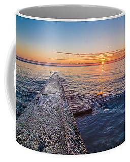 Early Breakwater Sunrise Coffee Mug