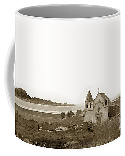 Early Carmel Mission And Point Lobos California Circa 1884 Coffee Mug