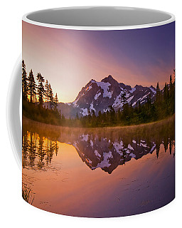 Early Morning At Picture Lake Coffee Mug