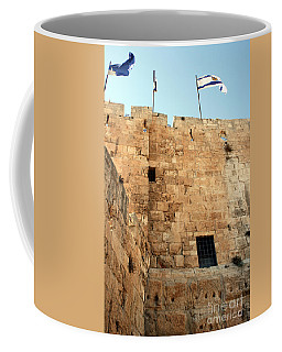 Coffee Mug featuring the photograph Early Morning At The Jaffa Gate by Doc Braham