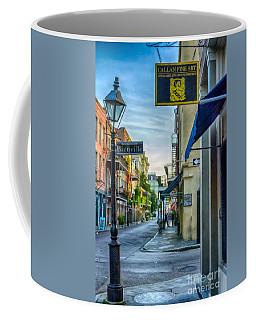 Early Morning In French Quarter Nola Coffee Mug