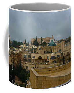 Coffee Mug featuring the photograph Early Morning In Jerusalem by Doc Braham