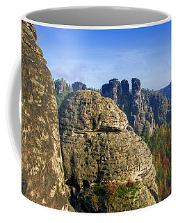 Early Morning On Neurathen Castle Coffee Mug