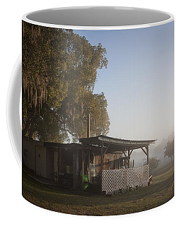 Early Morning On The Farm Coffee Mug by Lynn Palmer